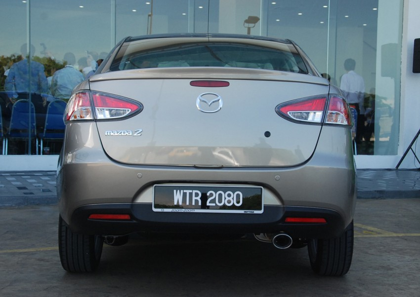 Mazda 2 launched: sedan and hatchback, RM80K to RM85K! Image #183235