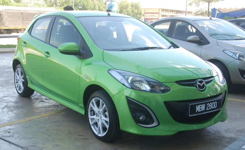 Mazda 2 launched: sedan and hatchback, RM80K to RM85K! Image #183242