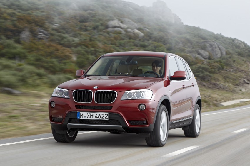 All-new F25 BMW X3 unveiled: first details and photos Image #226794