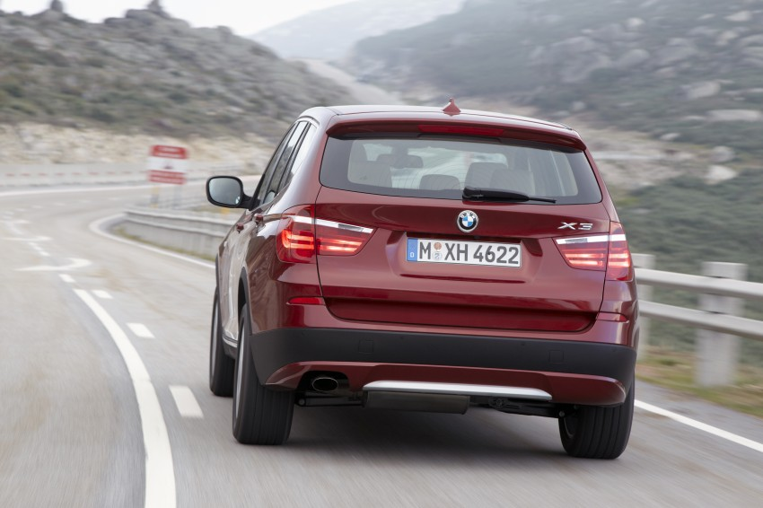 All-new F25 BMW X3 unveiled: first details and photos Image #226789