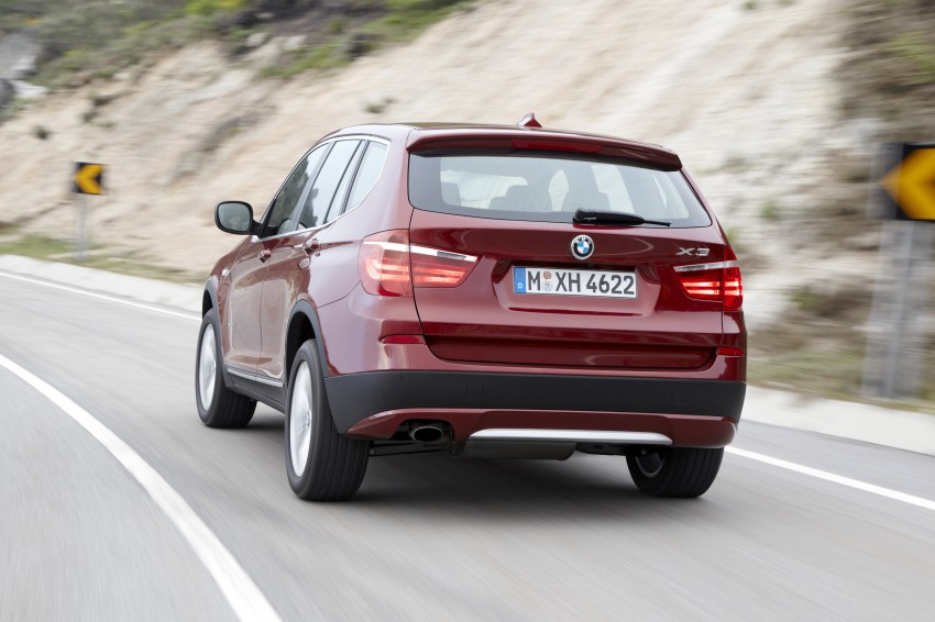 All-new F25 BMW X3 unveiled: first details and photos Image #226787