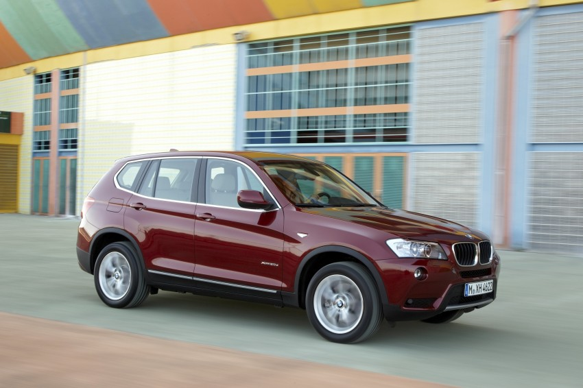 All-new F25 BMW X3 unveiled: first details and photos Image #226784