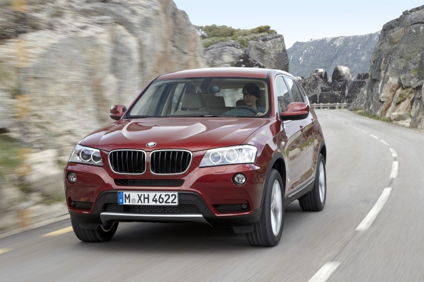 All-new F25 BMW X3 unveiled: first details and photos Image #226782