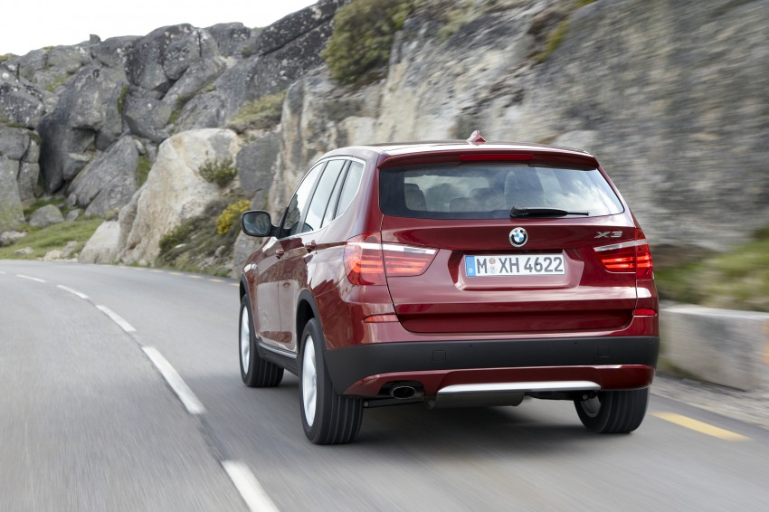 All-new F25 BMW X3 unveiled: first details and photos Image #226781