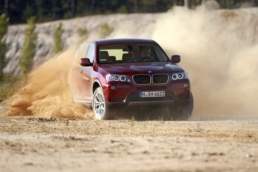 All-new F25 BMW X3 unveiled: first details and photos Image #226778