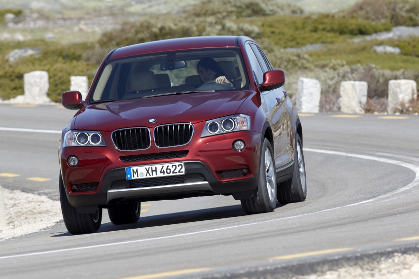 All-new F25 BMW X3 unveiled: first details and photos Image #226775