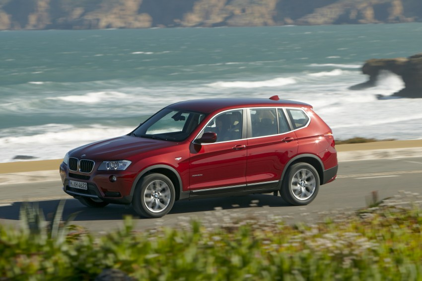 All-new F25 BMW X3 unveiled: first details and photos Image #226771