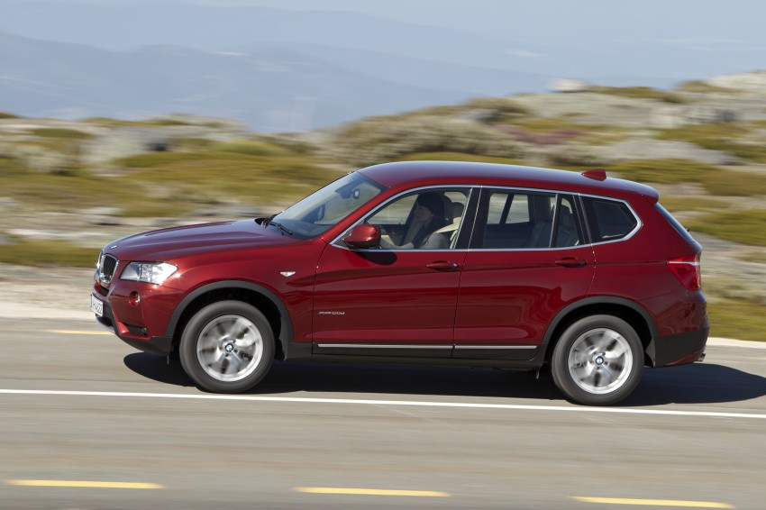 All-new F25 BMW X3 unveiled: first details and photos Image #226770