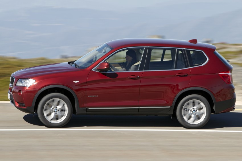 All-new F25 BMW X3 unveiled: first details and photos Image #226768