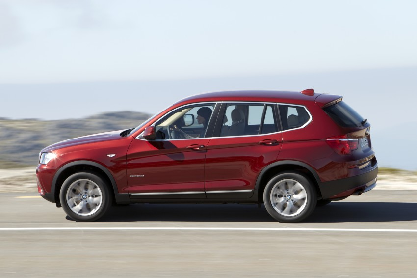 All-new F25 BMW X3 unveiled: first details and photos Image #226767