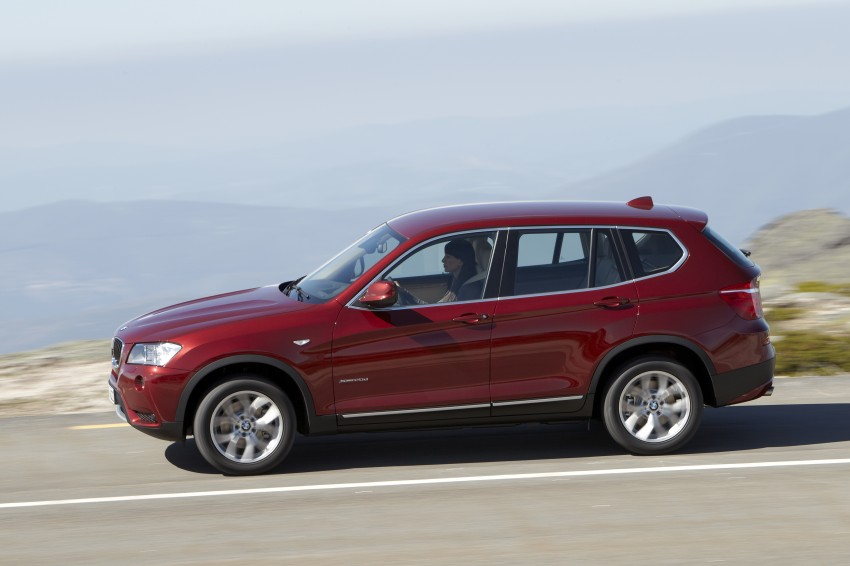 All-new F25 BMW X3 unveiled: first details and photos Image #226765