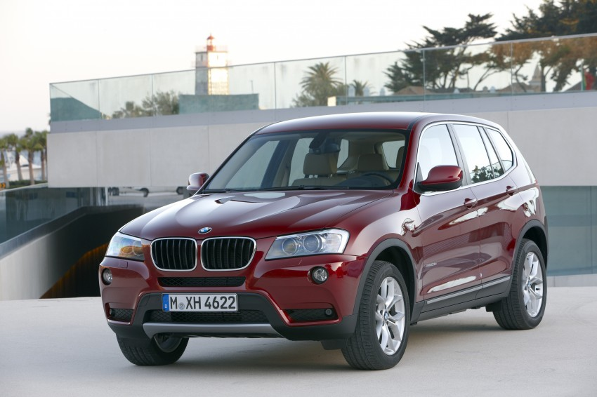 All-new F25 BMW X3 unveiled: first details and photos Image #226763