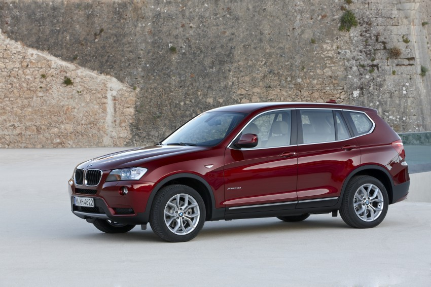 All-new F25 BMW X3 unveiled: first details and photos Image #226762