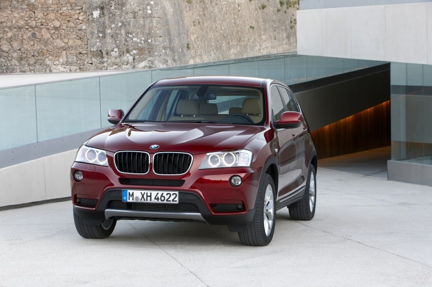 All-new F25 BMW X3 unveiled: first details and photos Image #226758