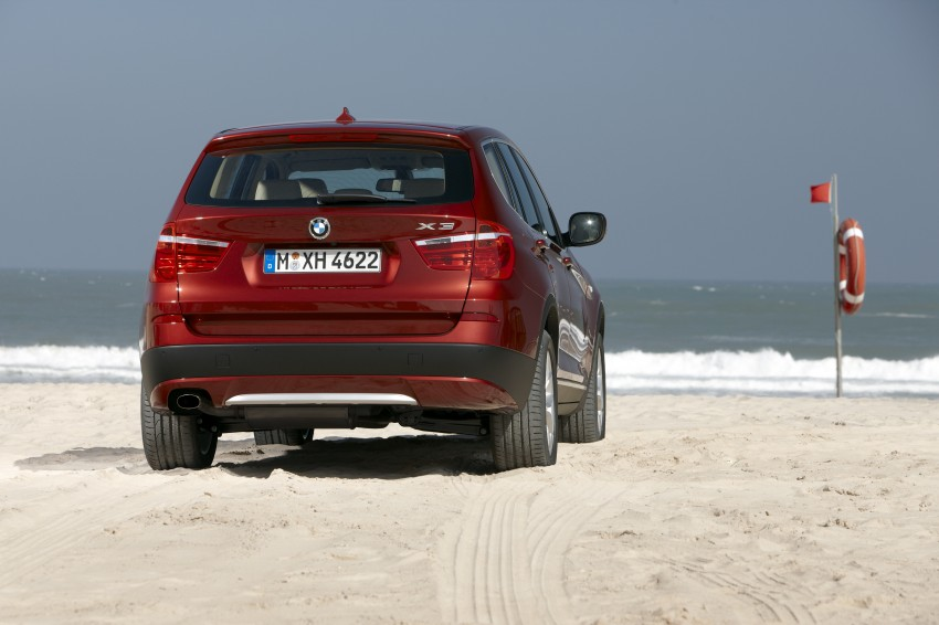 All-new F25 BMW X3 unveiled: first details and photos Image #226757