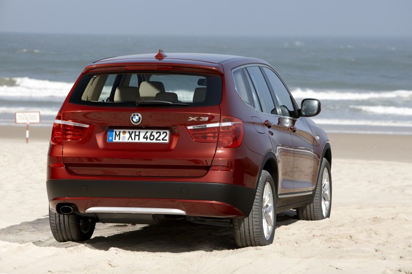 All-new F25 BMW X3 unveiled: first details and photos Image #226756