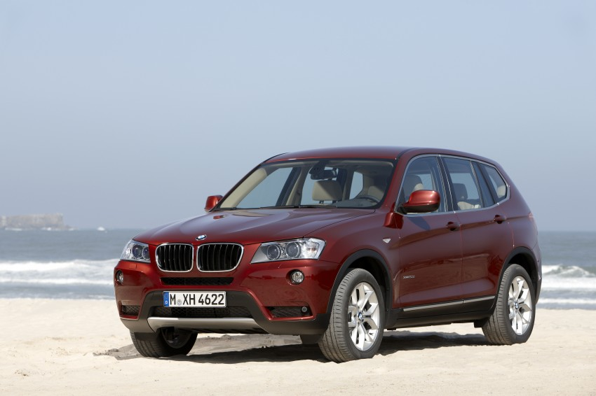 All-new F25 BMW X3 unveiled: first details and photos Image #226755