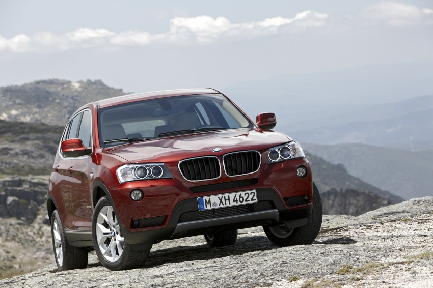 All-new F25 BMW X3 unveiled: first details and photos Image #226754