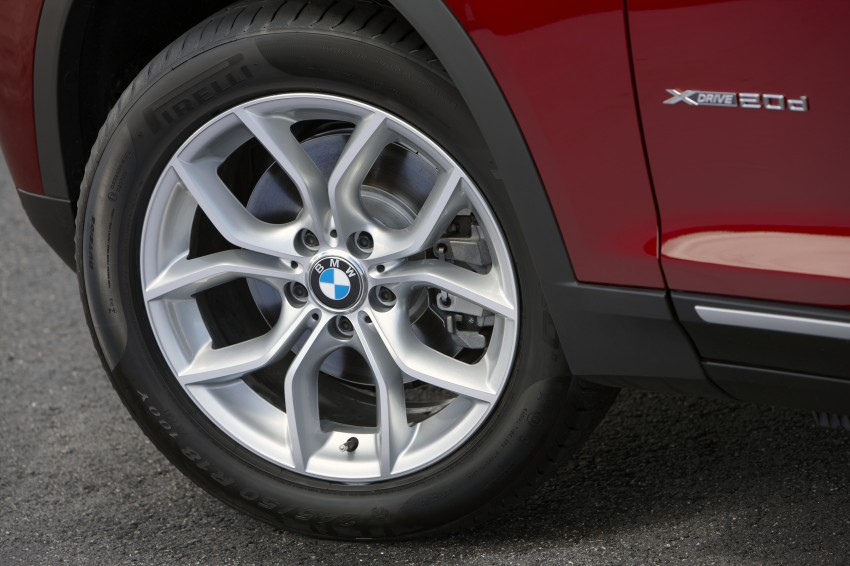 All-new F25 BMW X3 unveiled: first details and photos Image #226741
