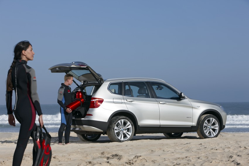 All-new F25 BMW X3 unveiled: first details and photos Image #226736