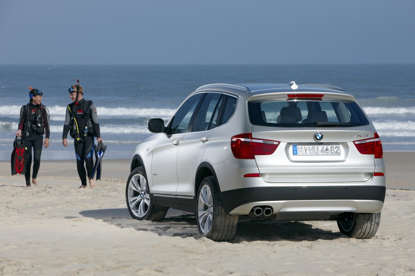 All-new F25 BMW X3 unveiled: first details and photos Image #226734