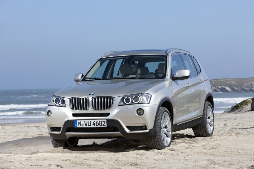 All-new F25 BMW X3 unveiled: first details and photos Image #226731