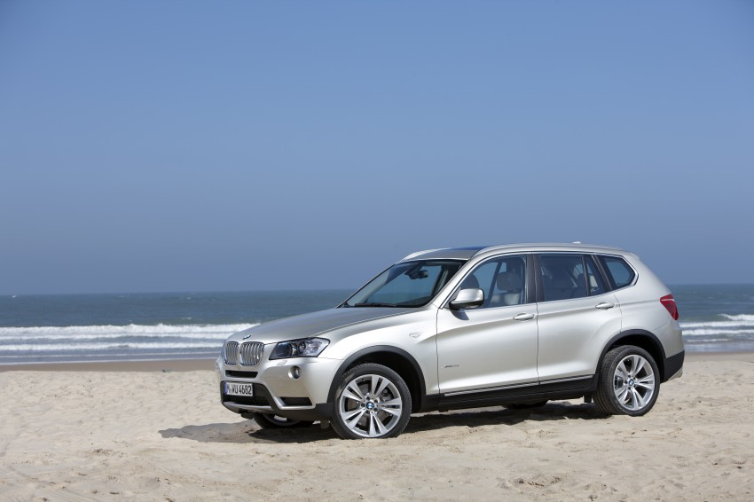 All-new F25 BMW X3 unveiled: first details and photos Image #226729
