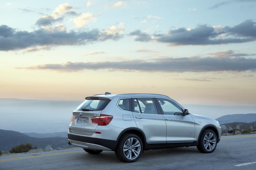 All-new F25 BMW X3 unveiled: first details and photos Image #226728