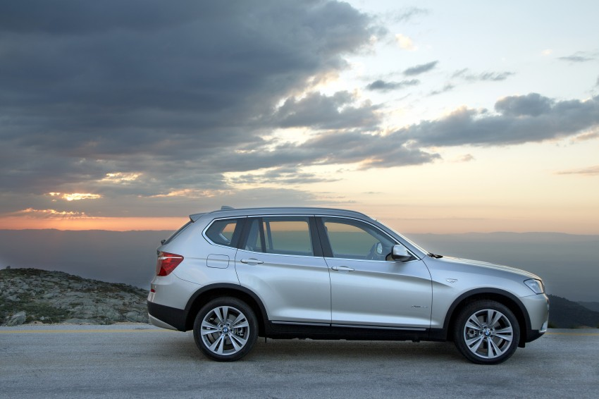 All-new F25 BMW X3 unveiled: first details and photos Image #226727