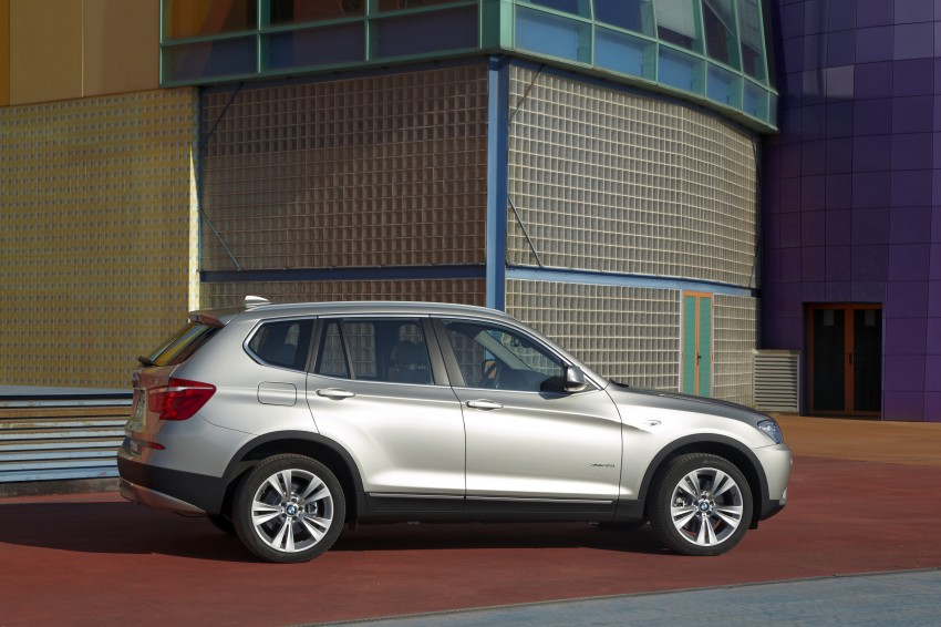 All-new F25 BMW X3 unveiled: first details and photos Image #226721