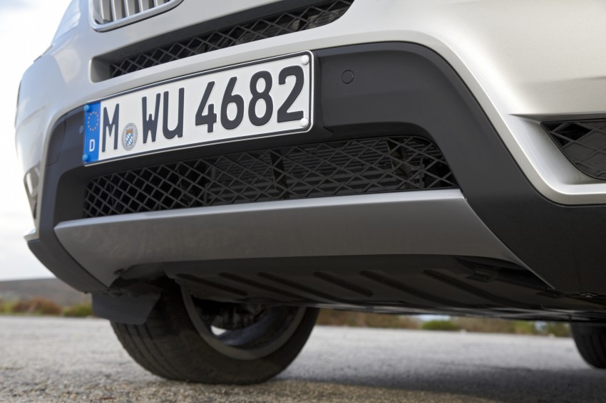 All-new F25 BMW X3 unveiled: first details and photos Image #226708