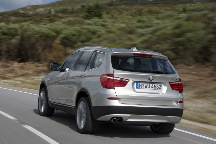 All-new F25 BMW X3 unveiled: first details and photos Image #226704