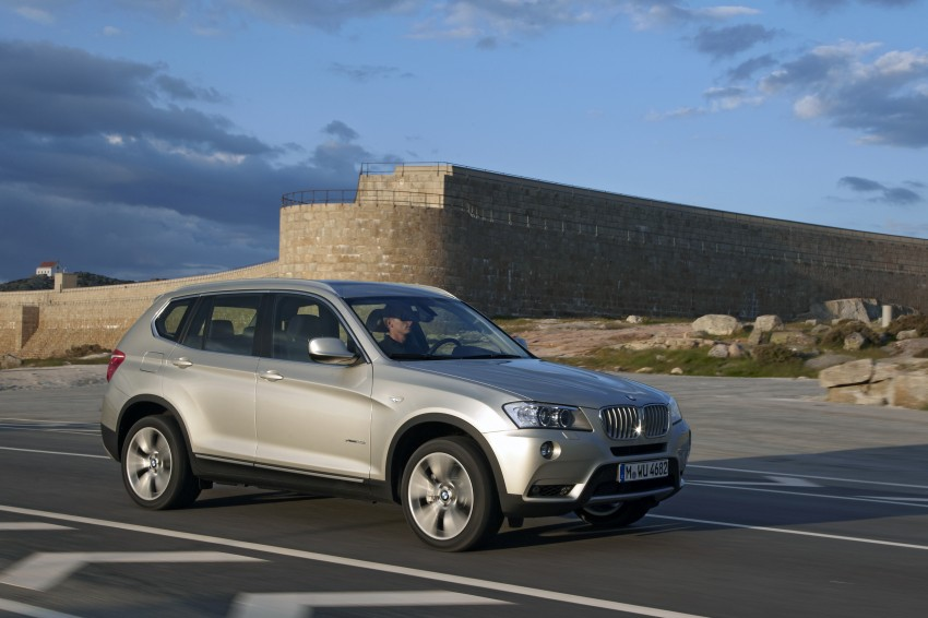 All-new F25 BMW X3 unveiled: first details and photos Image #226698