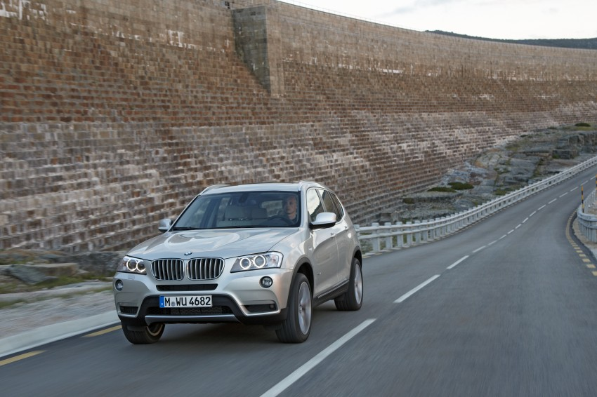 All-new F25 BMW X3 unveiled: first details and photos Image #226697