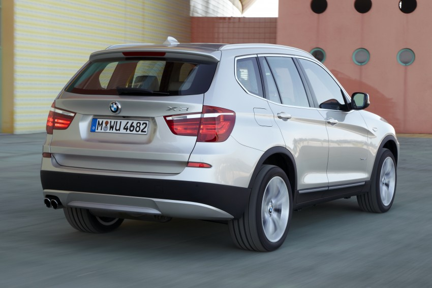 All-new F25 BMW X3 unveiled: first details and photos Image #226695
