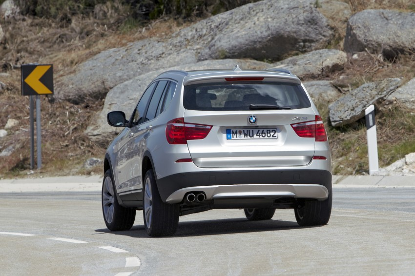 All-new F25 BMW X3 unveiled: first details and photos Image #226683