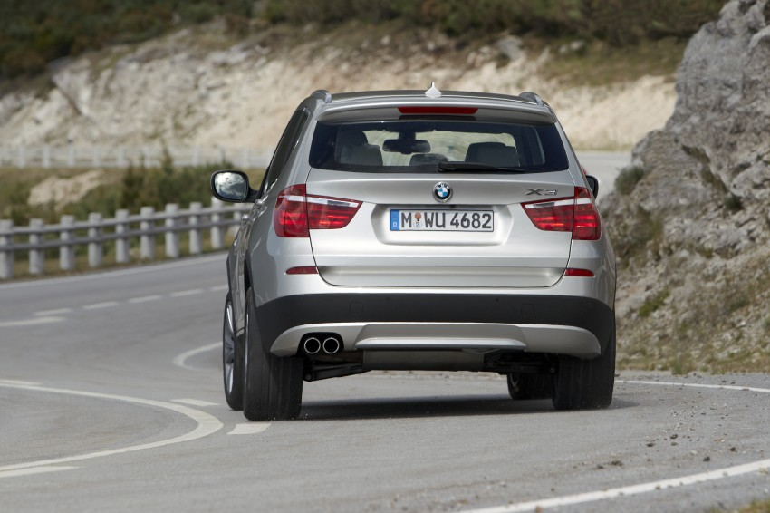 All-new F25 BMW X3 unveiled: first details and photos Image #226681