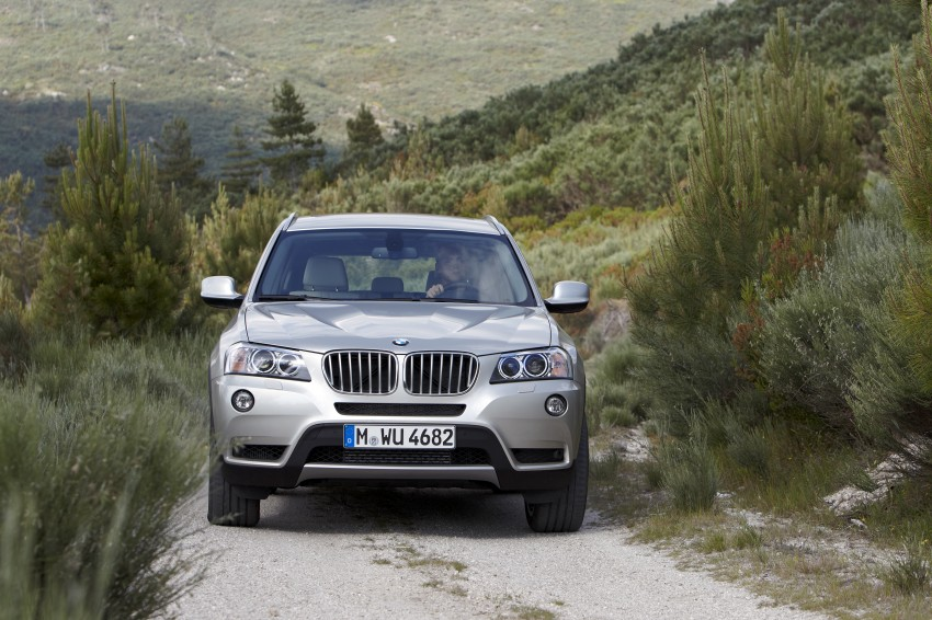 All-new F25 BMW X3 unveiled: first details and photos Image #226680
