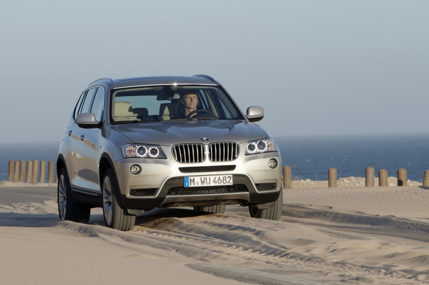 All-new F25 BMW X3 unveiled: first details and photos Image #226679