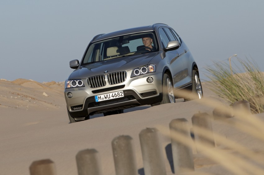 All-new F25 BMW X3 unveiled: first details and photos Image #226678