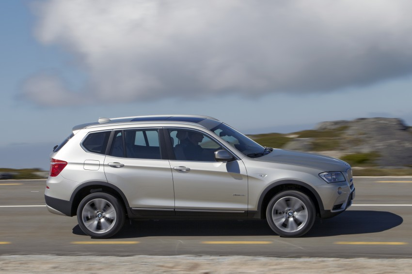 All-new F25 BMW X3 unveiled: first details and photos Image #226663
