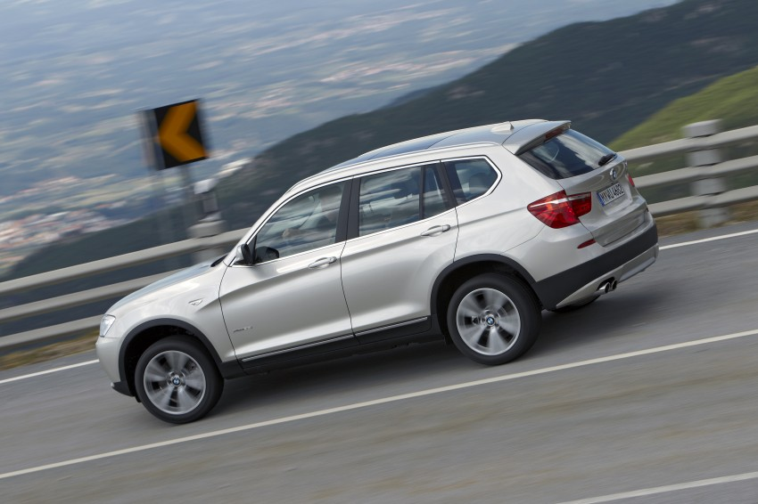 All-new F25 BMW X3 unveiled: first details and photos Image #226662