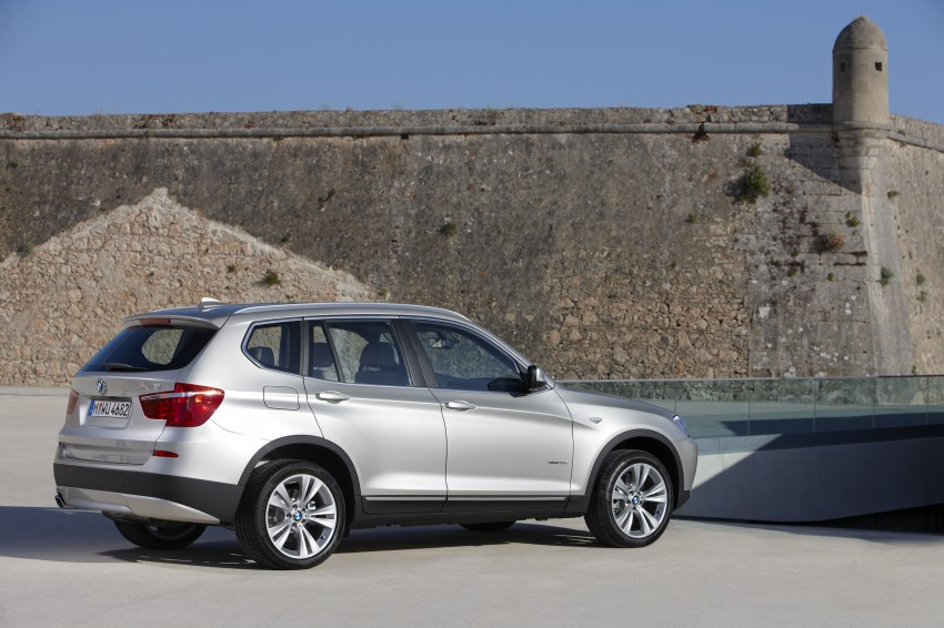 All-new F25 BMW X3 unveiled: first details and photos Image #226655