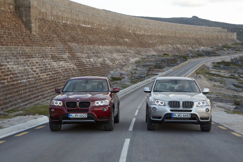 All-new F25 BMW X3 unveiled: first details and photos Image #226649