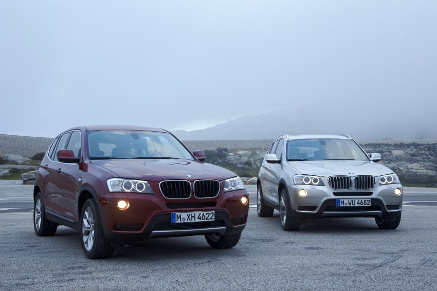 All-new F25 BMW X3 unveiled: first details and photos Image #226648
