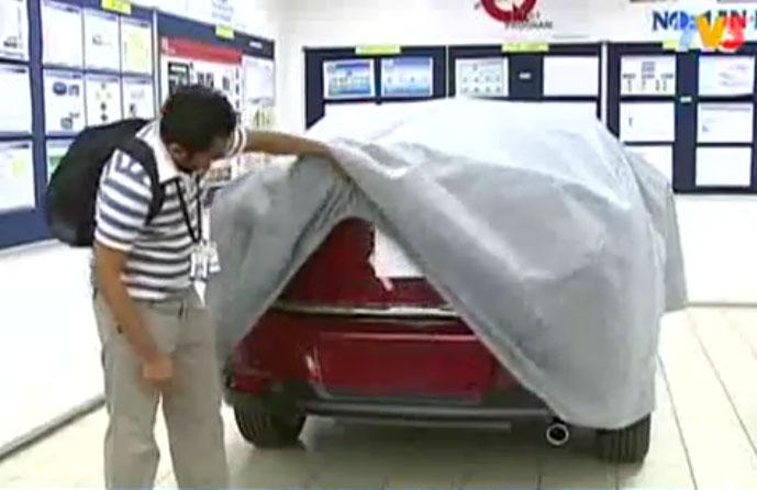 Proton P390A based on Mitsubishi Lancer previewed on TV3 Image #372357