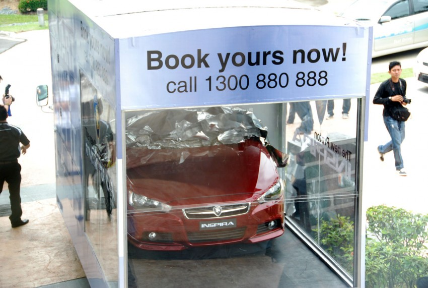 Proton Inspira now officially open for bookings! Image #372378