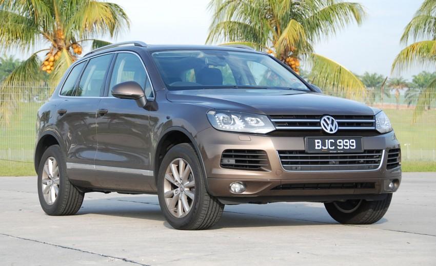 Test Drive Report: Second-generation Volkswagen Touareg Image #247163