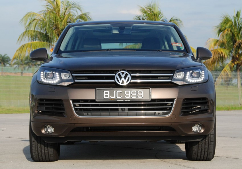 Test Drive Report: Second-generation Volkswagen Touareg Image #247160