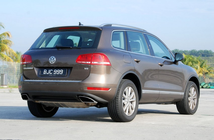 Test Drive Report: Second-generation Volkswagen Touareg Image #247153